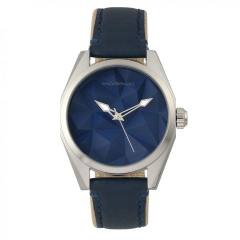 Morphic M59 Series Men's Quartz Watch, Canvas Strap, Luminous Hands