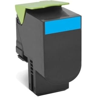 Lexmark 80C10c0 Cyan Return Program Toner