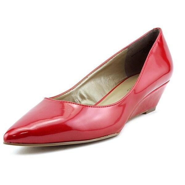 Bandolino Yara Women  Open Toe Synthetic Red Wedge Heel