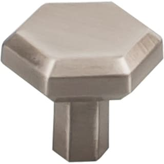 Top Knobs TK792 Lydia 1-1/4 Inch Diameter Octagonal Geometric Cabinet Knob from the Serene Collection