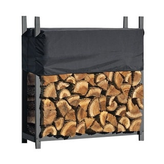 ShelterLogic Ultra Duty 4-foot Firewood Rack with Cover