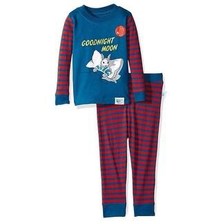 Intimo Little Boys' Goodnight Moon Pillow Bunny Pajamas