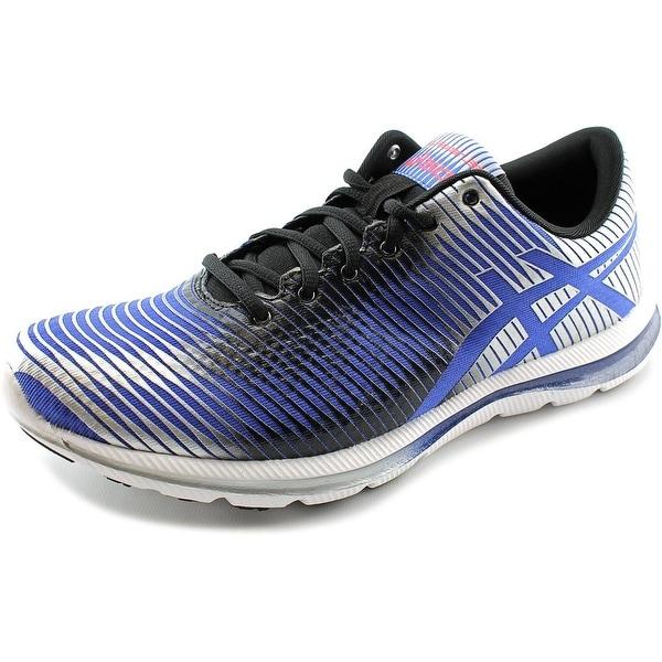 Asics Gel-Super J33 2 Men Round Toe Synthetic Blue Running Shoe