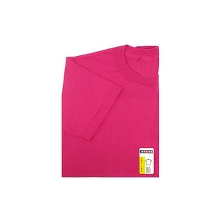 Jerzees TShirt Adult Large Cyber Pink