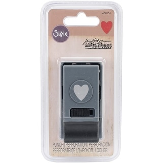 Sizzix Small Paper Punch By Tim Holtz-Small Heart