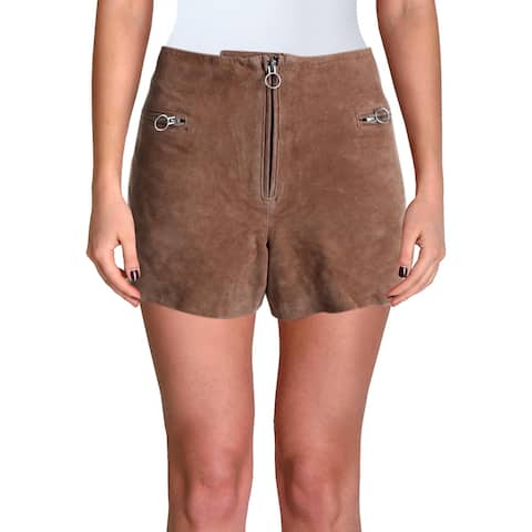 [BLANKNYC] Womens Shorts Suede Pull On - Tan - 31