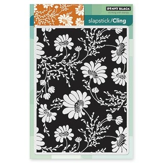 """Penny Black Cling Stamp 5""""X7""""-Floral Tapestry"""