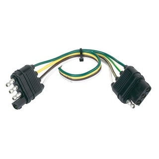 """Hopkins 48145 4-Wire Flat Extension, 12"""""""