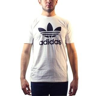Adidas Originals Trefoil Men's White T-shirt