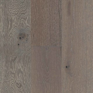 "Mohawk Industries BCE77-OAK  Vintage Inspired 7"" Wide Wirebrushed Engineered Oak Hardwood Flooring - Sold by Carton (35"