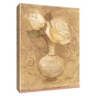 "PTM Images 9-154659  PTM Canvas Collection 10"" x 8"" - ""Mini Bouquet IV"" Giclee Flowers Art Print on Canvas"