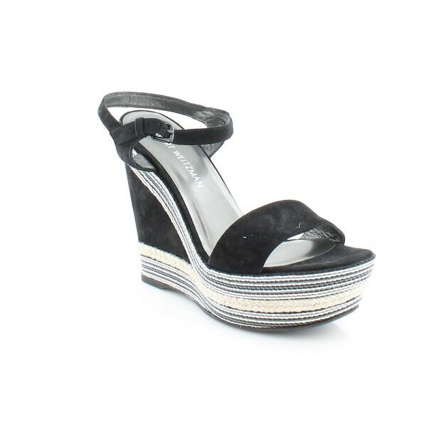 Stuart Weitzman Single Women's Sandals & Flip Flops Black