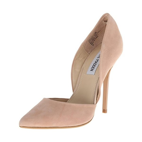 9e3500397bf Shop Steve Madden Womens Varcityy D'Orsay Heels Solid Pointed Toe ...