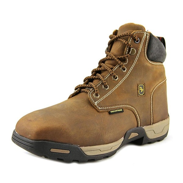 Dan Post Cabot St Men Steel Toe Leather Tan Work Boot