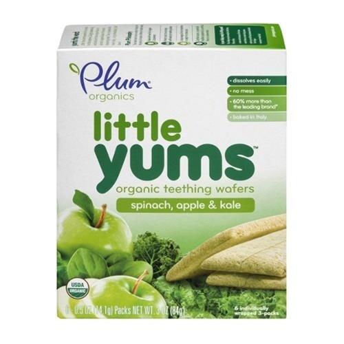 Plum Organics - Spinach, Apple & Kale Little Yums ( 36 - .5 OZ)
