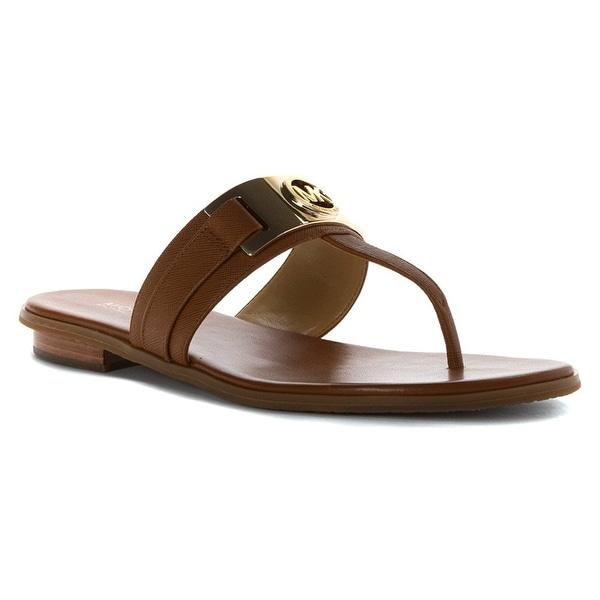 MICHAEL Michael Kors Womens Warren Thong Split Toe Casual Slide Sandals