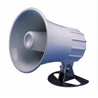 "Hailer Horn, 5"" Round, 30 Watt"