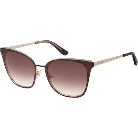 JUICY COUTURE JU609GS 04IN 56 MTT BROWN FEMALE ADULT CAT EYE/BUTTERFLY Sungasses