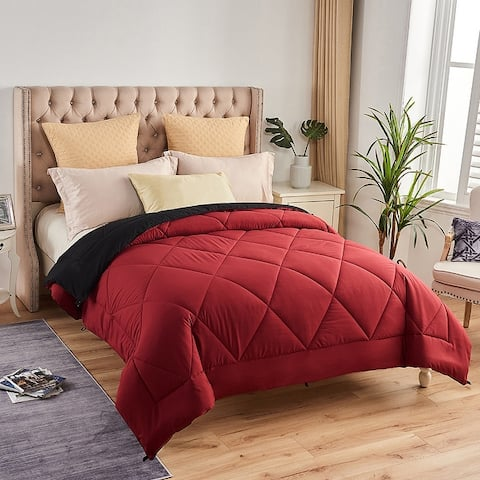 Luxury All-Season Down Alternative Reversible Comforter