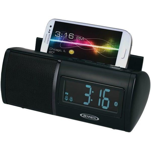 Jensen Jbd-100 Universal Bluetooth(R) Dual Alarm Clock Radio