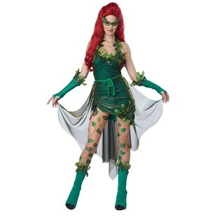 Sexy Lethal Beauty Womens Posion Ivy Halloween Costume