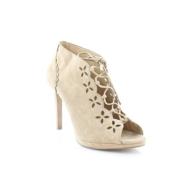 Michael Kors Thalia Booties Women's Heels Dk Khaki - 11