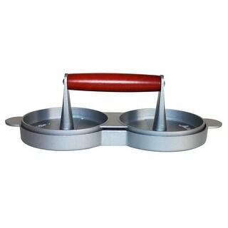 Jim Beam Aluminium Double Burger Press