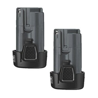 Battery for Porter Cable PCL12BLX (2-Pack) Powertool Battery