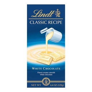 Lindt Bar, Clssc, White Chocolate - (Case of 12 - 4.4 oz)