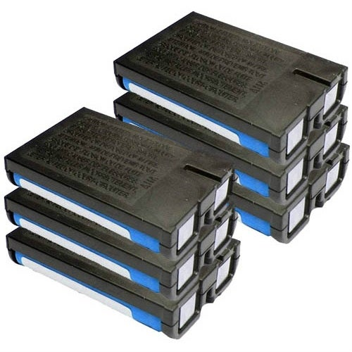 Replacement Panasonic KX-TG2267B NiMH Cordless Phone Battery (6 Pack)