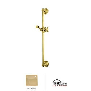 "Rohl 1201 24"" Slide Bar with Hand Shower Holder and Cross Handle"