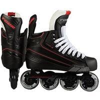 Tour Hockey Mens Code 7 Sr Inline Hockey Skate, Black, 12