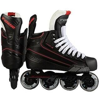 Tour Hockey Mens CODE 7 Sr Inline Hockey Skate, Black, 8