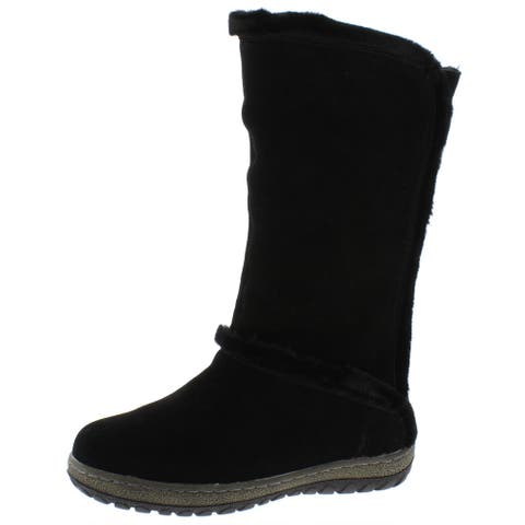 Wanderlust Womens MukLuk Winter Boots Suede Cold Weather