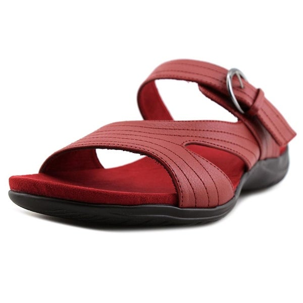 Easy Street Flicker Women Red Sandals