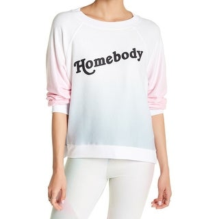 "Wildfox Womens Small ""Homebody"" Pullover Sweater"
