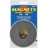 "Master Magnetics 07019 Magnetic Strip, 1"" x 10'"
