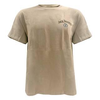 Jack Daniels Men's Classic Old No. 7 Short Sleeve T-Shirt - Khaki 33261403JD-28|https://ak1.ostkcdn.com/images/products/is/images/direct/06a61c286d87dd3dbf3f6f33b25b5a8441280d8d/Jack-Daniels-Men%27s-Classic-Old-No.-7-Short-Sleeve-T-Shirt---Khaki-33261403JD-28.jpg?impolicy=medium