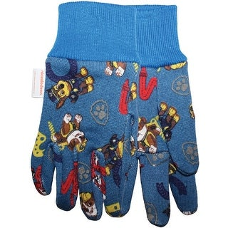 Midwest Quality Glove PW102T Nickelodeon Paw Patrol Kids Gardening Gloves, Blue