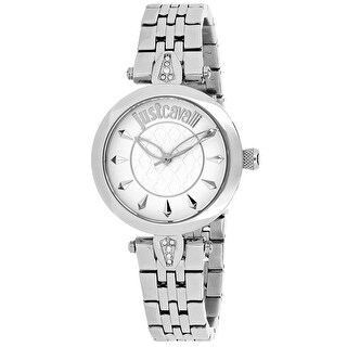 Just Cavalli Women's Just Florence Silver Dial Watch