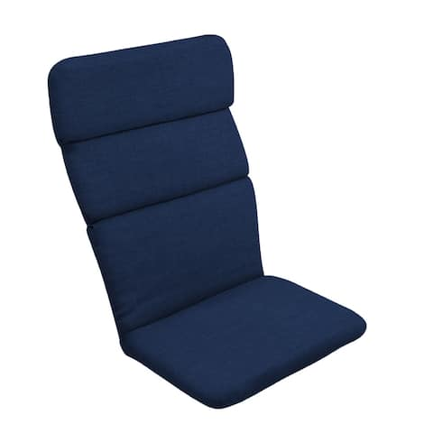 Arden Selections Sapphire Leala Texture Adirondack Cushion - 45.5 in L x 20 in W x 2.25 in H