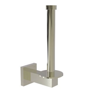 Allied Brass Montero Collection Upright Toilet Tissue Holder and Reserve Roll Holder