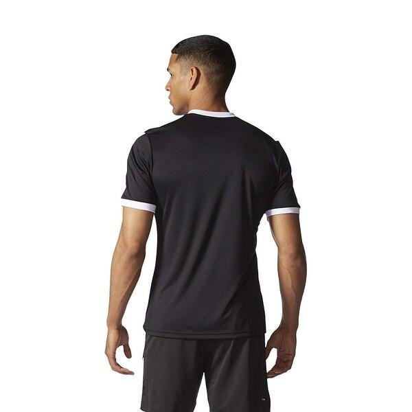 Shop Adidas Men's Tabela 14 Jersey T Shirt Black White