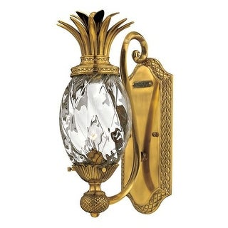 "Hinkley Lighting H4140 1 Light 14.5"" Height Indoor Wall Sconce from the Plantation Collection"