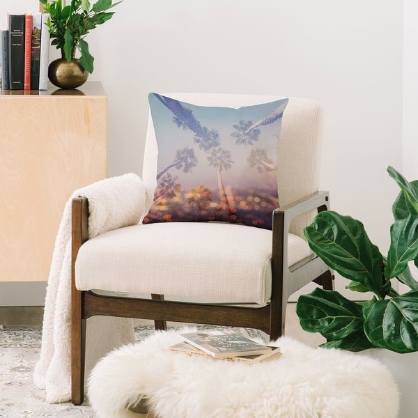 Deny Designs Cali Nights Reversible Throw Pillow (4 Size Options). Opens flyout.