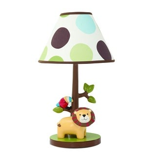 Lambs & Ivy Brown Treetop Buddies Lamp with Shade & Bulb