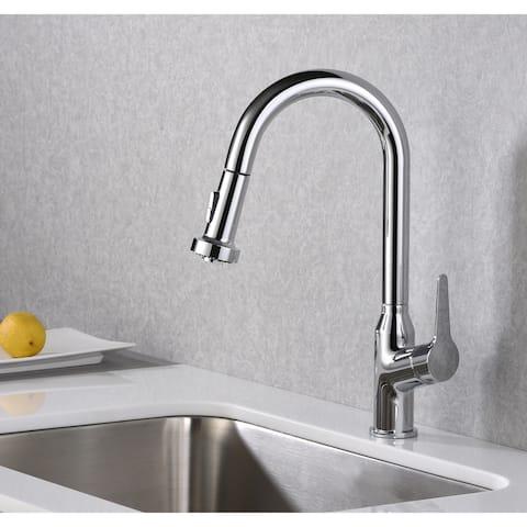 Karran Dockton Single-Handle Pull-Down Sprayer Kitchen Faucet