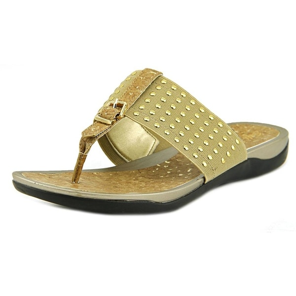Soft Style by Hush Puppies Rini W Open Toe Canvas Thong Sandal