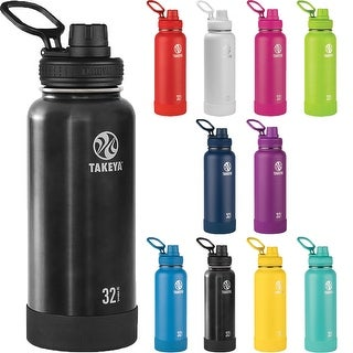 Takeya Actives 32 oz. Insulated Stainless Steel Water Bottle