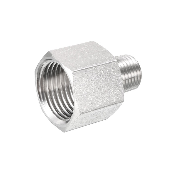 1 4 Npt >> Shop Pipe To Fitting Adapter Gauge Adapter 1 4 Npt Male Pipe X 1 2